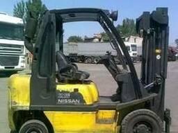 Автопогрузчик Nissan FD02A25Q на 2. 5 тонны