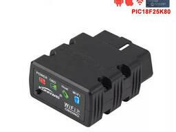 Автосканер Konnwei KW902 ELM327 ODB2 V1.5 Wifi IOS/Android PIC18f25k80 Chip 4mhz