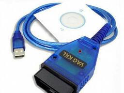 Автосканер VAG COM 409.1 KKL OBD2 USB