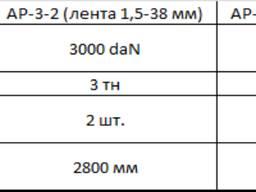 Автовозный ремень АР-3-2
