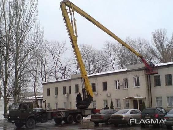 Автовышка АКП-30 (30м) в аренду
