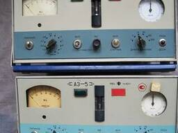 АЗ-5 и ПК. ГТА-0, 3-002 (АЗ-6) счетчики аэрозольных частиц