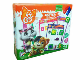 """Азбука на магнитах Vladi Toy """"44 Cats"""" (укр) (VT5411-07)"""