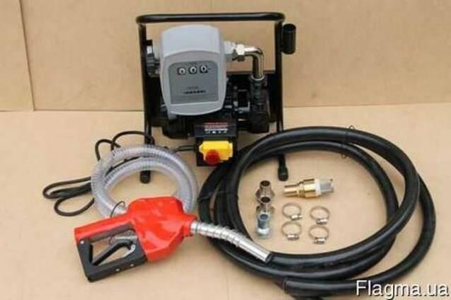АЗС для перекачки ДТ с механический счетчиком Geko Mini 2200
