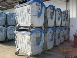 Б/у контейнеры для мусора