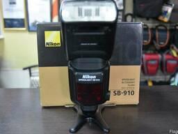 Б.У. Nikon SB-910 в отл состоянии