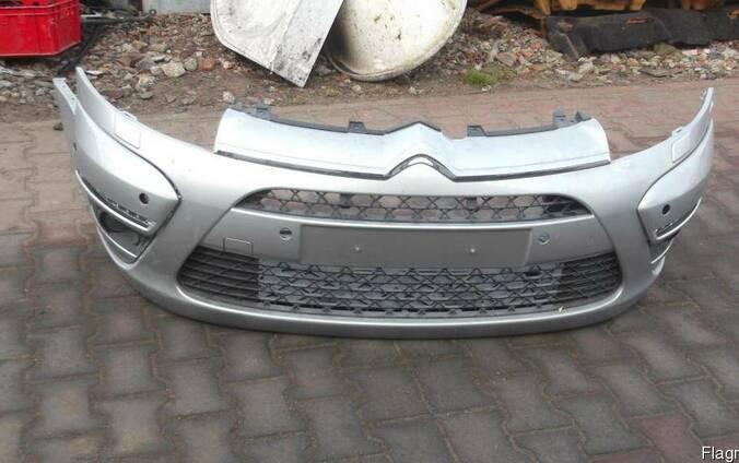Б/у бампер передний комплектный голый Citroen C4 picasso