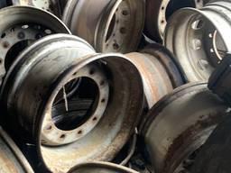 Б/у диски колесные прицепные барабанные тормоза 22,5х11,75 ет 0