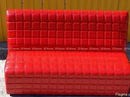 Б. у диваны красные в кафе бар ресторан, бу мебель