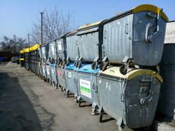 Б/у евроконтейнера для мусора стальные