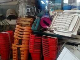 Б/у (лом) шезлонги пластиковые, столы, стулья, ведра, тазы