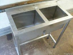 Б. у. мойки столы стеллажи из нержавеющей стали для кафе, общ