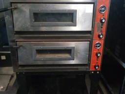 Б/у Пицца-печь два уровня для столовой, кафе, ресторана