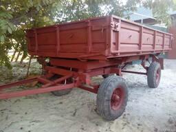 Б/у усиленный тракторный прицеп 2ПТС-4. Недорого!
