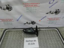 Б/у зеркало боковое левое для Nissan Qashqai 83313JD00A