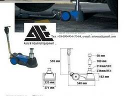 B25-2 Домкрат портативный пневмогидравлический низкий 162 мм