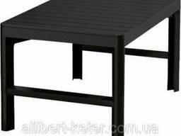 БагатофункціональнийстілLYON Table Rattan графіт (Allibert)