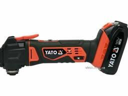 Багатофункційний інструмент акумуляторний YATO Li-Ion 18 В 2 Агод 18000 об/хв