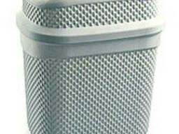 Бак для мусора Ucsan Plastik M-131-Gray 4 л серый