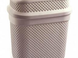 Бак для мусора Ucsan Plastik M-131-Pink 4 л розовый