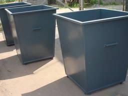 Бак для твердых бытовых отходов (ТБО)
