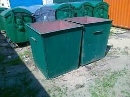 Бак мусорный 750 литров конусообразный