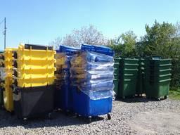 Баки, контейнери для сміття , урни