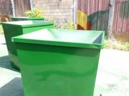 Баки мусорные 0, 75 м. куб. с доставкой по Украине