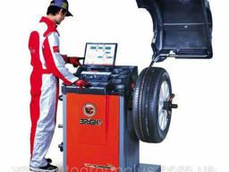 Балансировочный станок (вес колеса 75 кг) CB968B Bright