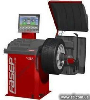 Балансировочный стенд Fasep (Италия) V585 автоматический (