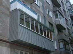Двойной балкон