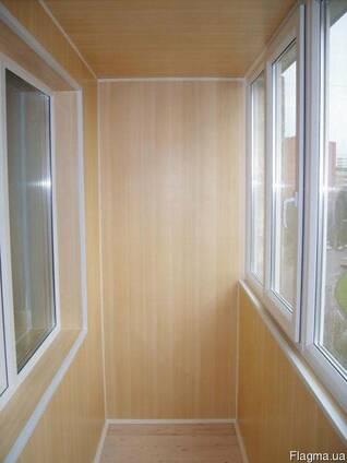 Балкон под ключ (мебель, ремонт, электрика, окна, двери)