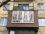 Балкон под ключ !! Расширение , Утепление . Обшивка Лоджии Балконов ! - фото 1