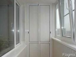 Балкон под ключ. Выносной балкон. Обшивка балкона.