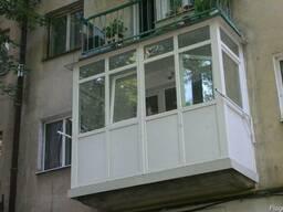 Балкон з виносом від нижньої плити