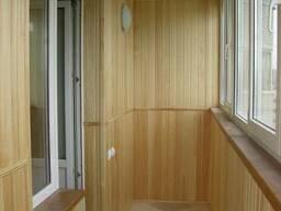 Балконы деревянные под ключ