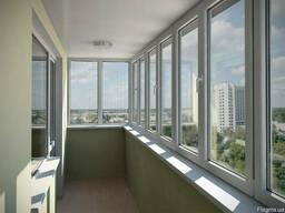 Балконы и лоджии расширение, остекление и утепление