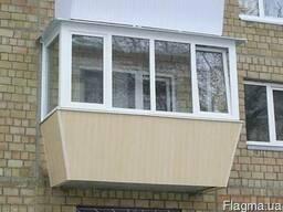 Остекление балкона. Вынос, утепление и обшивка!