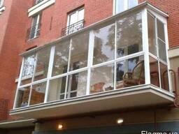 Балконы под ключ дешево!