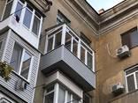 Балконы под ключ , расширение балконов , обшивка балконов сайдингом - фото 2
