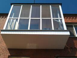 Балконы. Расширение. Утепление. Остекление