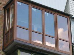 Балконы с выносом под ключ.Окна. Двери. Москитные сетки.Буча
