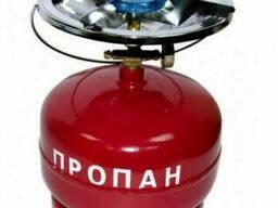 Баллон газовый бытовой 5 л. с горелкой