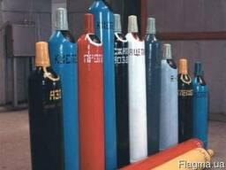 Баллоны кислородные (40л) аргоновые, углекислотные и т.д.