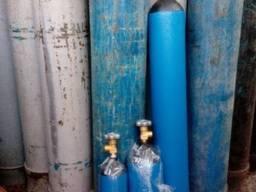 Баллоны кислородные углекислотные аргоновые гелиевые пропан