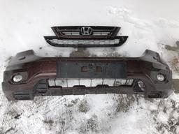 Бампер, омыватель фары, парктроник, решетка радиатора Honda CR-V 2011 год