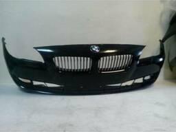 Бампер передний, BMW F10, F11, облицовка, чёрная, оригинал