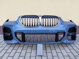 Бампер передний комплектный BMW X1 F48 LIFT LCI, М-пакет