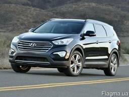 Бампер передний задний Хюндай Hyundai SANTA FE 2012-2016 г.