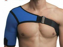 Бандаж плечевого сустава неопреновый левый/правый Алком 4027, 1-5 размер, синий